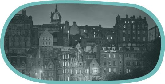 Hotel accommodation in Edinburgh